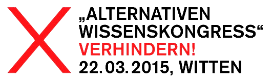 »Alternativen Wissenskongress« verhindern!